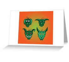 Goblins! Greeting Card