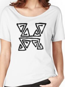 indigenous peoples drawing Women's Relaxed Fit T-Shirt