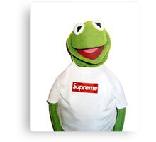 Supreme Kermit the Frog Metal Print