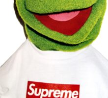 Supreme Kermit the Frog Sticker