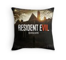 Resident Evil 7 Biohazard Dark Throw Pillow