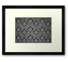 The Evil Within Ruvik Damask Framed Print