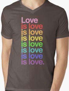 Love is love. Mens V-Neck T-Shirt