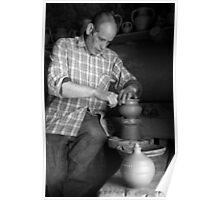 Azores islands pottery Poster