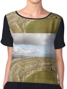 Ancient Stones Donegal, Ireland Chiffon Top