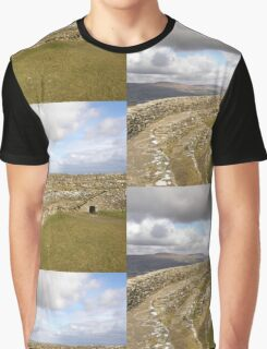 Ancient Stones Donegal, Ireland Graphic T-Shirt