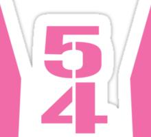 540 Elite pink Sticker