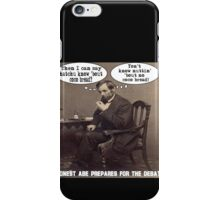 Coco Bread: Presidential Deal Sealer iPhone Case/Skin