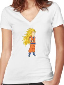 Super Boomhauer Women's Fitted V-Neck T-Shirt