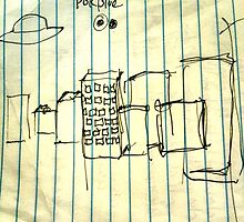 Waiting for Robot - initial sketch by gehlhausenn