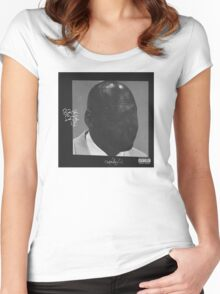 ScHoolboy Q Blank Face LP  Women's Fitted Scoop T-Shirt