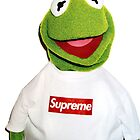 Supreme Kermit the Frog by tomonoura