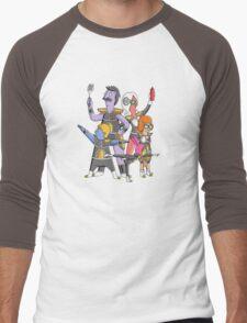 Burger Force Men's Baseball ¾ T-Shirt