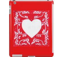 Red Ink Heart iPad Case/Skin