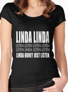 Linda listen Women's Fitted Scoop T-Shirt