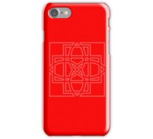 Red Celtic Knot Case iPhone Case/Skin