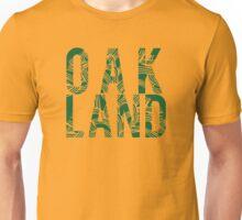 Oakland Green Cutout Unisex T-Shirt