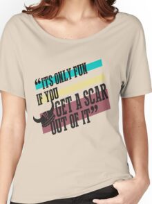 How To Train Your Dragon Quote Tee Women's Relaxed Fit T-Shirt