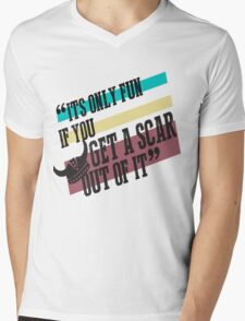 How To Train Your Dragon Quote Tee Mens V-Neck T-Shirt