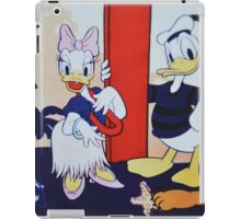 Ducks Girl Daisy Boy Donald iPad Case/Skin