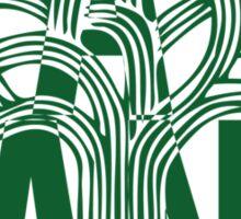 Oakland Green Sticker