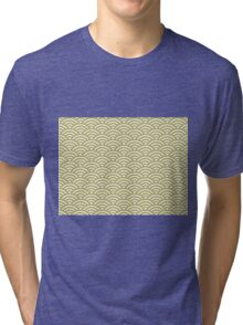 Sea of Arches Pattern Tri-blend T-Shirt