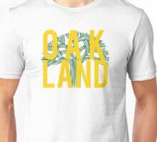 Oakland Gold & Green Unisex T-Shirt