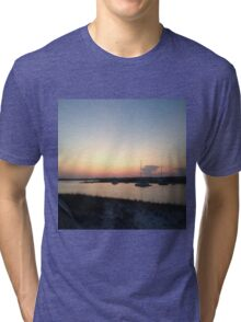 beautiful water view Tri-blend T-Shirt
