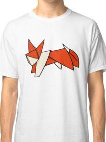 Cute Paper Fox Classic T-Shirt