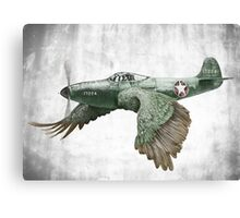 It's a bird. It's a plane... Canvas Print