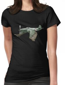 It's a bird. It's a plane... Womens Fitted T-Shirt