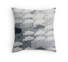 Decorative Barramundi Throw Pillow - Dark 1 Throw Pillow