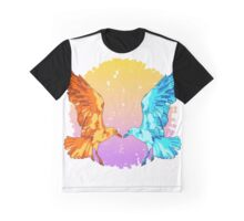 Day and Night/Sun and Moon Seagulls Graphic T-Shirt