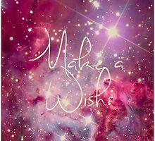 Make a Wish Vintage Filter Galaxy by RexLambo