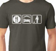 Funny Metal Detecting Eat Sleep Repeat Unisex T-Shirt