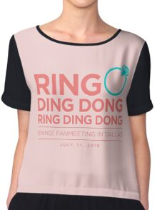 SHINee Ring Ding Dong Chiffon Top