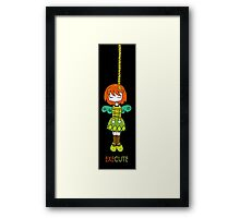 ExeCute by Lolita Tequila Framed Print