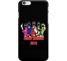 Turbo Reunion 2016 (Rangers) iPhone Case/Skin