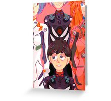 Evangelion Kids Greeting Card