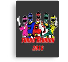 Turbo Reunion 2016 (Rangers) Canvas Print
