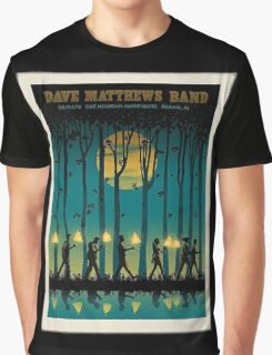 DAVE MATTHEWS BAND SUMMER TOUR 2016 OAK MOUNTAIN Graphic T-Shirt