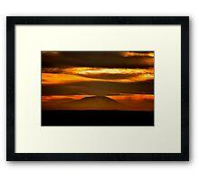 Navajo Mountain Framed Print