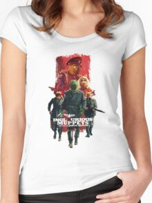 Inglorious Muppets Women's Fitted Scoop T-Shirt