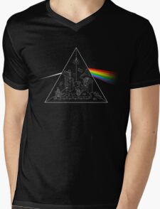 The Dark Side of the Process Mens V-Neck T-Shirt