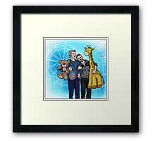 Robron at the Fair Framed Print