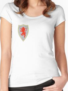 Narnia - Peter's shield Women's Fitted Scoop T-Shirt