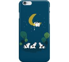 A Cow Jump over the moon iPhone Case/Skin