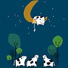 A Cow Jump over the moon by Budi Satria Kwan