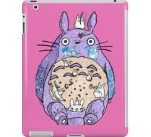 Totoro w/o background  iPad Case/Skin