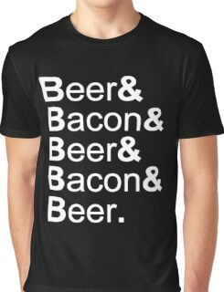 Beer&Bacon&Beer&Bacon... Graphic T-Shirt